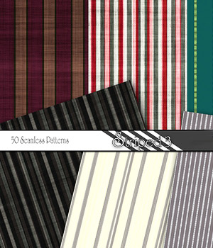 Merchant Resource - Striped Patterns 3 2D Merchant Resources antje