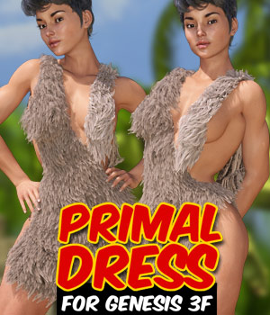 Primal Dress for G3 female(s) 3D Figure Assets powerage