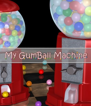 My GumBall Machine 3D Models DivabugDesigns