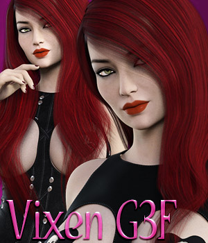Vixen G3F 3D Figure Essentials kaleya