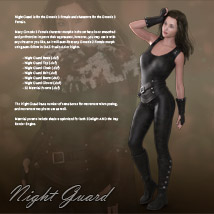 Night Guard for Genesis 3 Females image 1
