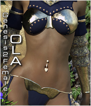 Ola for Genesis 2 Female 3D Figure Essentials ShoxDesign