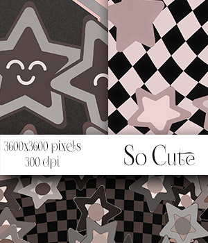 So Cute - Seamless Patterns 2D Merchant Resources antje