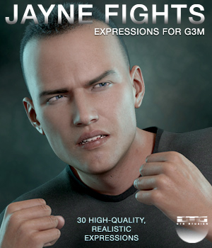DTG Studios' Jayne Fights Expressions for G3M 3D Figure Essentials DTHUREGRIF