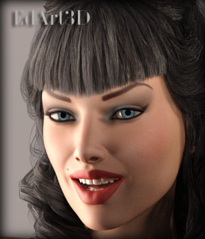 Betsie PinUp for Victoria 7 3D Figure Essentials EdArt3D