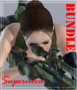 Sexy Sniper Bundle 3D Figure Essentials -supernova-