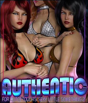 Authentic for Sexy Little Something 2 3D Figure Assets ShanasSoulmate