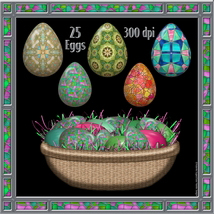 Stained Glass Mosaic Eggs image 3