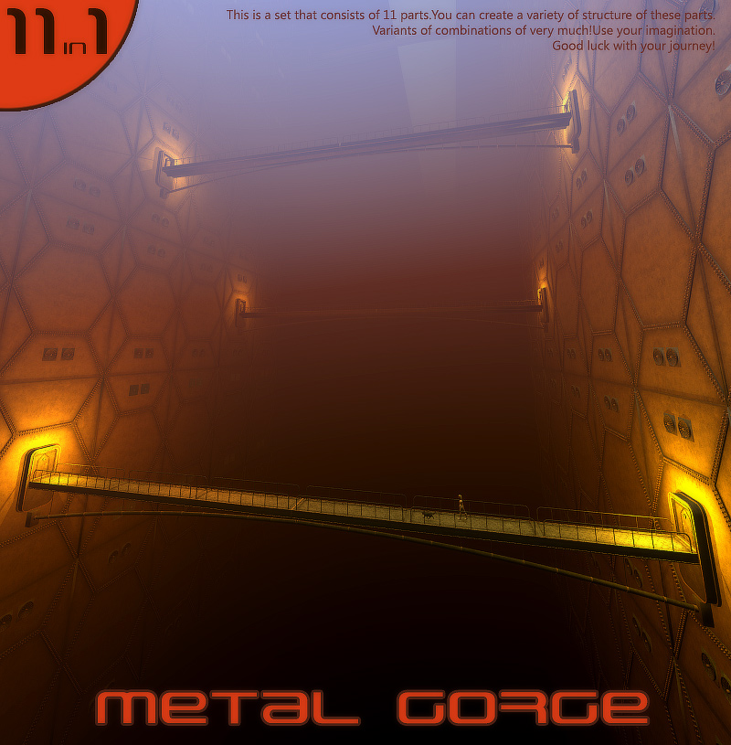 Metal gorge by 1971s