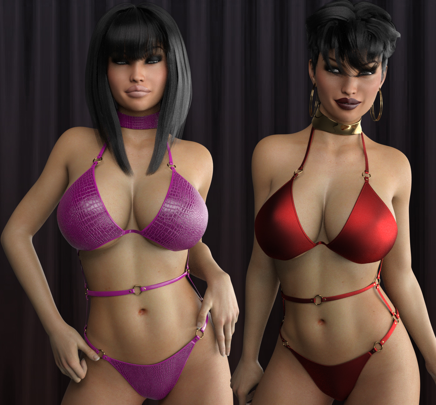 LUST - Sexy Little Something 2 for Genesis 3 Female(s) by Anagord