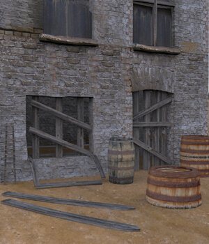 Urban Decay: Accessories (for Poser) 3D Models VanishingPoint
