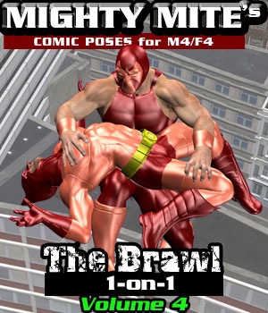 The Brawl: 1on1 v04 MM4M 3D Figure Assets MightyMite