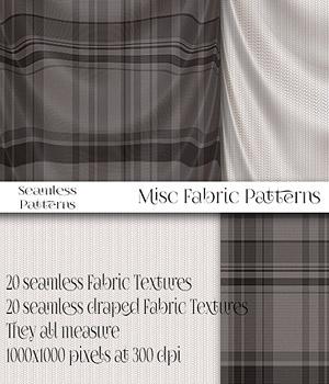 More Misc Fabric Patterns by antje