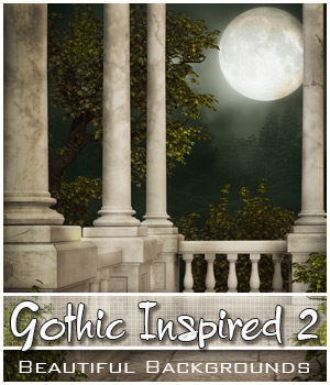 Gothic Inspired 2 2D Graphics Bez