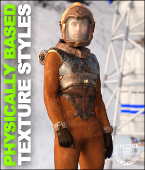 OOT PBR Texture Styles for Space Corps 3D Figure Essentials outoftouch