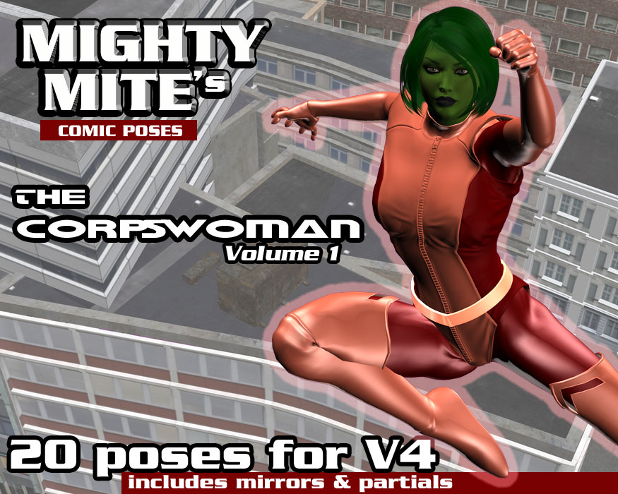 The Corpswoman v01 MM4V by MightyMite