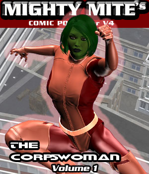 The Corpswoman v01 : By MightyMite for V4 3D Figure Essentials MightyMite