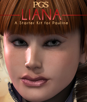 PGS-Liana 3D Figure Essentials pixeluna