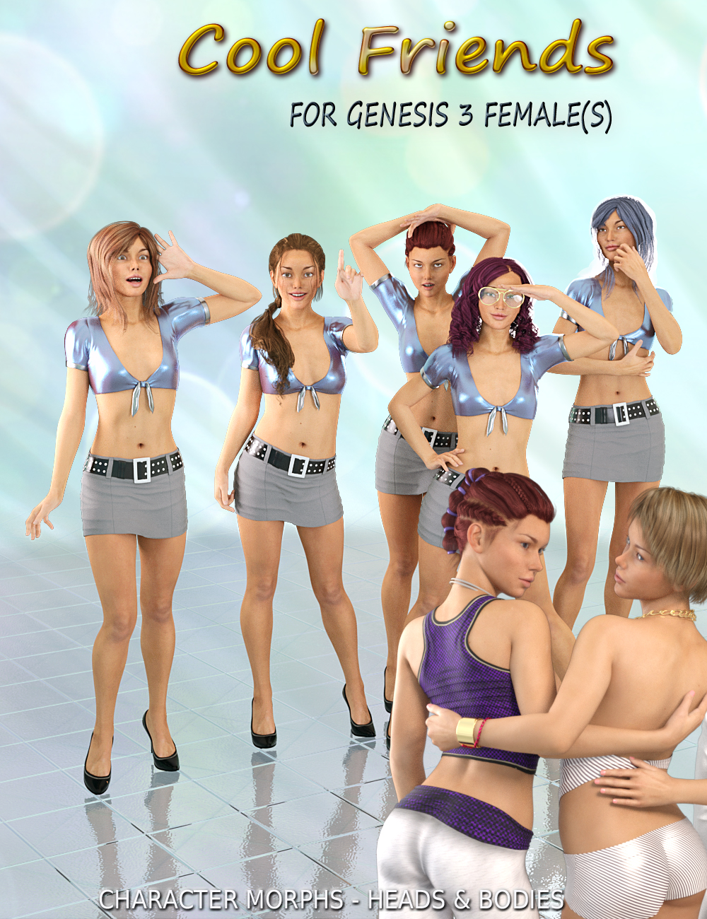COOL FRIENDS for Genesis 3 Female(s)