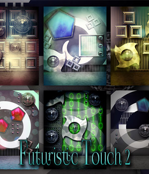 Futuristic Touch 2 2D Graphics antje
