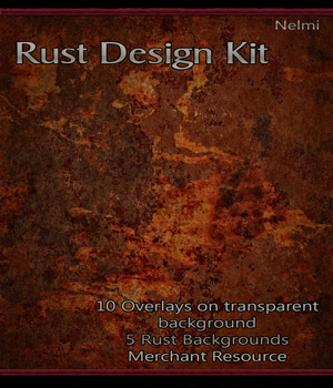 Merchant Resource: Rust Design Kit 2D Graphics Merchant Resources nelmi