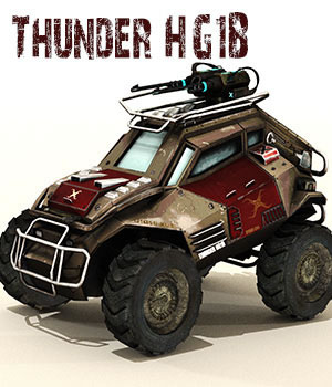 Thunder HG1B 3D Models dexsoft-games