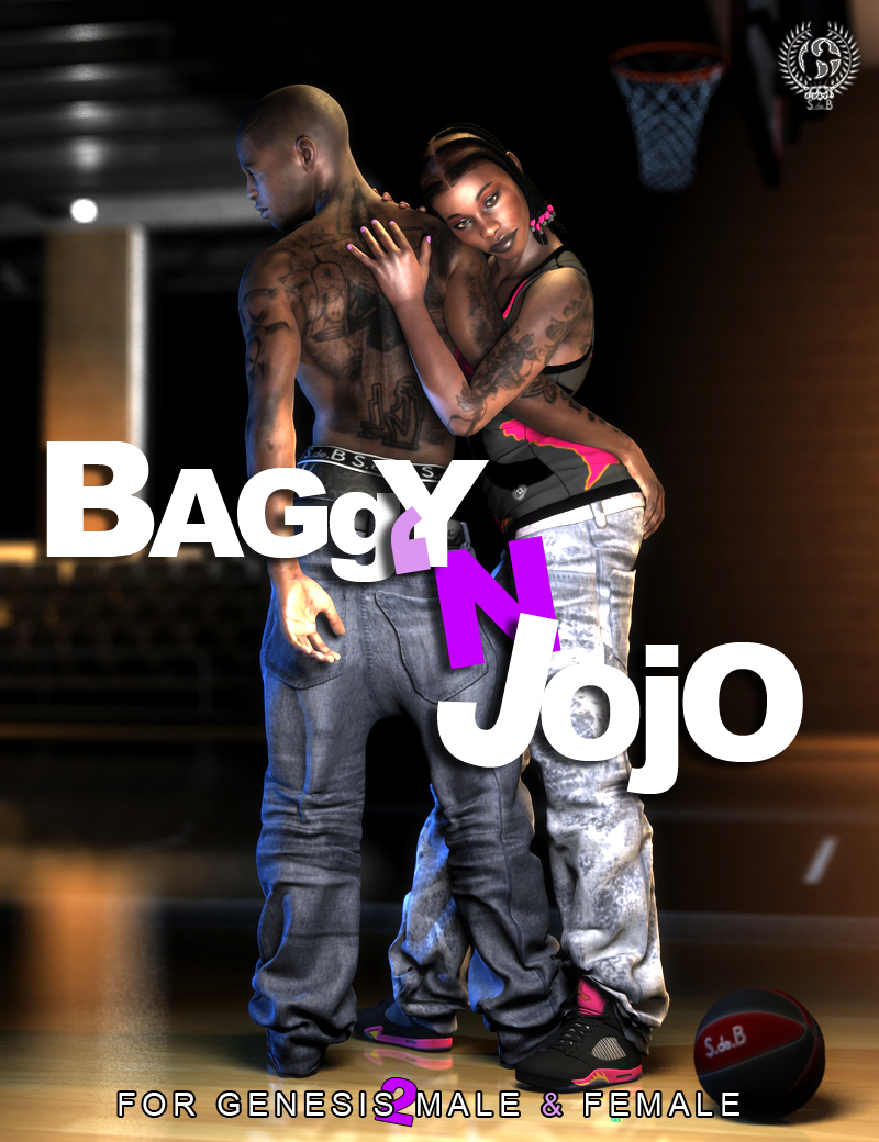 BAGGY 'N JOJO PACK for Genesis 2 Males & Females