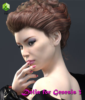 Delia for Genesis 3 3D Figure Essentials Anain