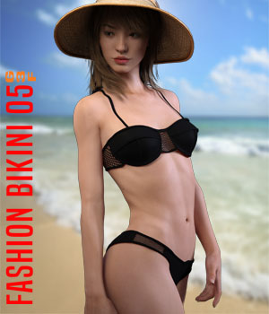 Fashion Bikini05 for G3F 3D Figure Assets xtrart-3d