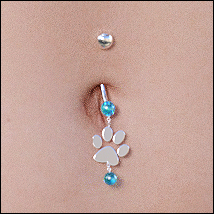 Twizted Metal Belly Rings G3 image 1