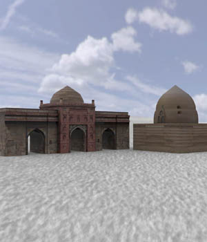 Middle East Buildings 1 (for Poser) 3D Models VanishingPoint
