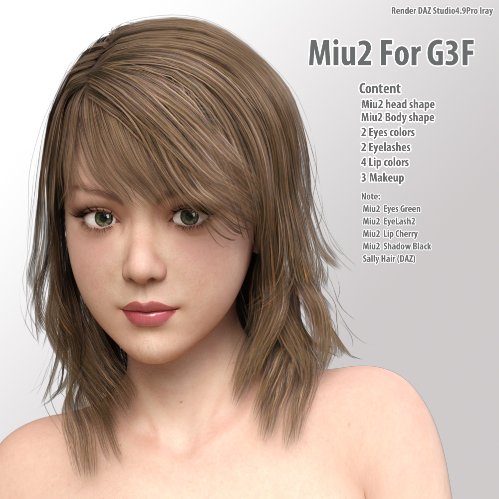 Miu2 for G3F