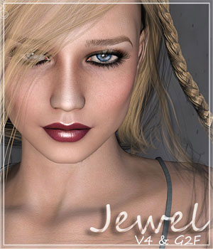 [CB] Jewel V4 & G2F 3D Figure Assets CynderBlue