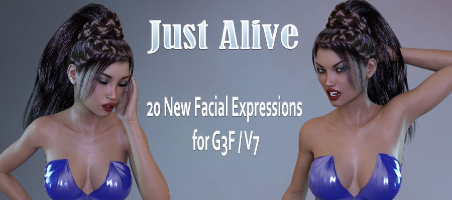 Just Alive Expressions for G3F/V7