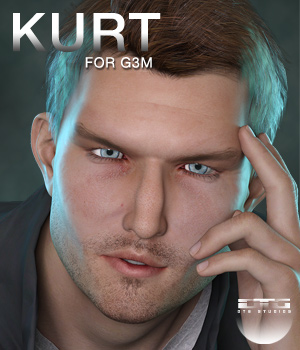 DTG Studios Kurt for G3M 3D Figure Essentials DTHUREGRIF