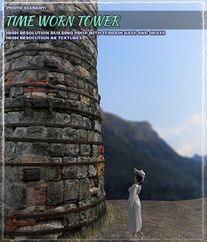 Photo Scenery: Timeworn Tower - Extended License 3D Models ShaaraMuse3D