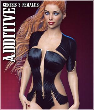 Additive for Genesis 3 Female(s) 3D Figure Assets lilflame