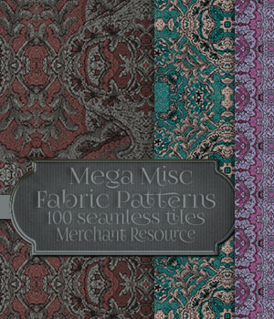 MR- Mega Misc Fabric 6 2D Graphics Merchant Resources antje