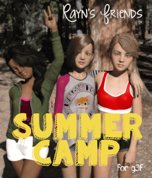 Rayn's Friends - Summer Camp 3D Figure Essentials AliveSheCried