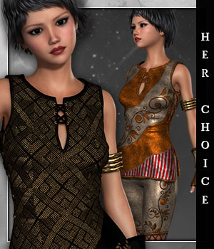 Her Choice for Annika Storm 3D Figure Essentials sandra_bonello