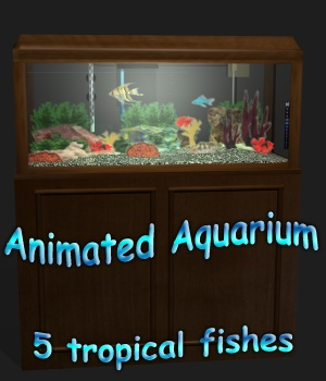 Tavern aquarium - Extended License 3D Models Extended Licenses greenpots