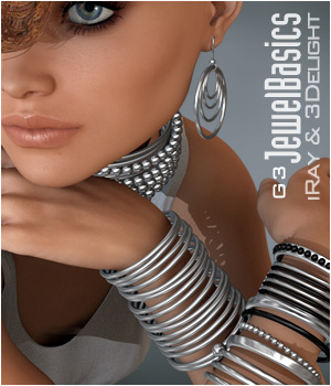G3 JewelBasics 3D Figure Essentials P3D-Art