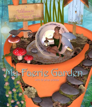 My Faerie Garden by JudibugDesigns