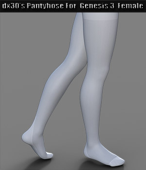 dx30's Pantyhose For Genesis 3 Females 3D Figure Assets dx30