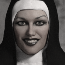 Nun Outfit for Genesis 3 Female(s) image 1
