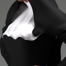 Nun Outfit for Genesis 3 Female(s) image 3
