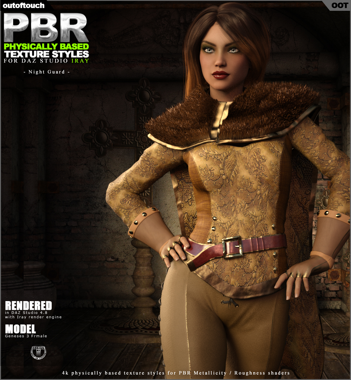 OOT PBR Texture Styles for Night Guard G3F