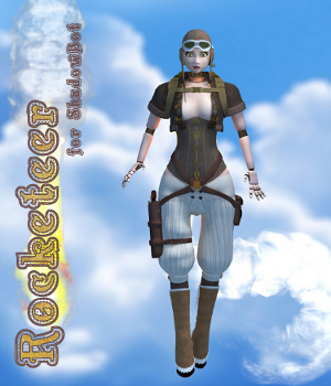 Rocketeer for ShadowBot 3D Figure Assets 3D Models swhawk