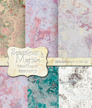 Merchant Resource - Seamless Marble 2 2D Merchant Resources antje