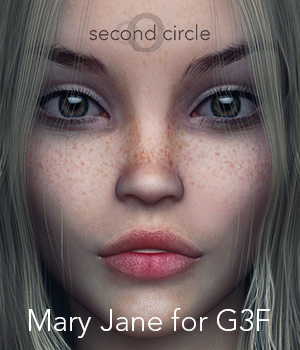 Mary Jane for G3F 3D Figure Assets secondcircle